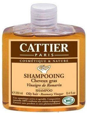 Cattier Champu para cabello graso de Vinagre de Romero 250ml