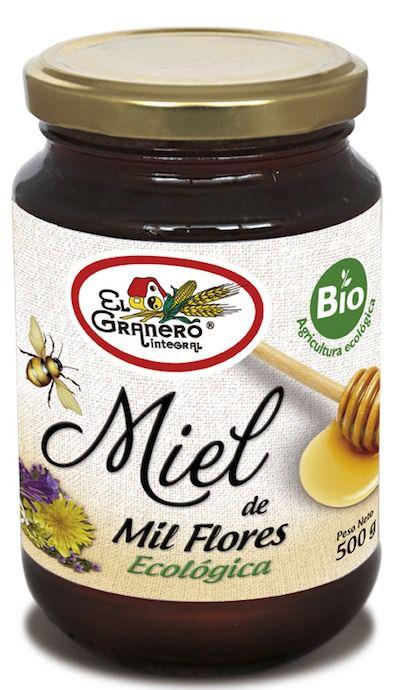El Granero Miel Mil Flores Bio 500g