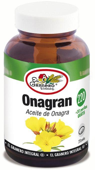 El Granero Onagran 220 perlas 715 mg