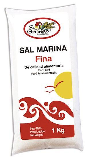 El Granero Sal Marina Fina 1Kg