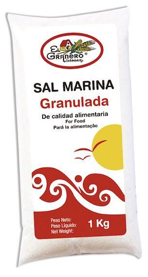 El Granero Sal Marina Granulada 1Kg