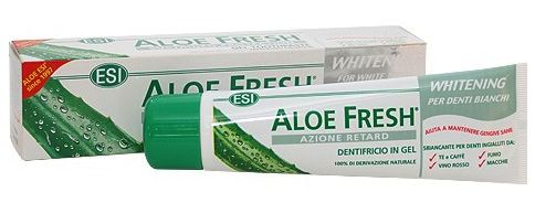 ESI Aloe Fresh Retard Dentrifico Blanqueador 100ml