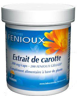 Fenioux Zanahoria y Lecitina de Soja 200 capsulas