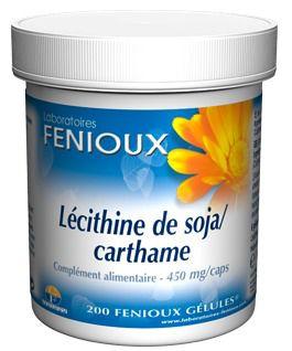 Fenioux Lecitina de Soja y Cartamo 200 capsulas