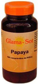 Glamasot Papaya 600mg 100 comprimidos
