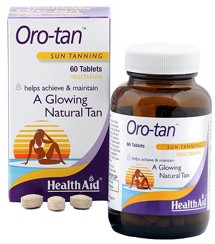 Health Aid Oro-Tan 60 comprimidos
