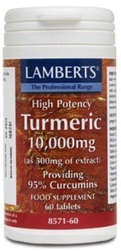 Lamberts Curcuma 10000 mg 60 comprimidos