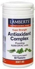 Lamberts Complejo Antioxidante Super Concentrado 60 comprimidos