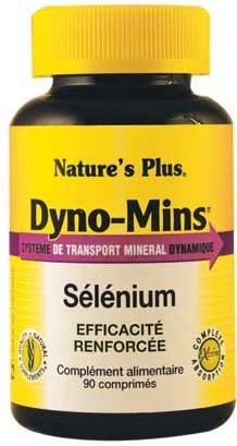 Natures Plus Dyno-Mins Selenio 47,5μg 90 comprimidos