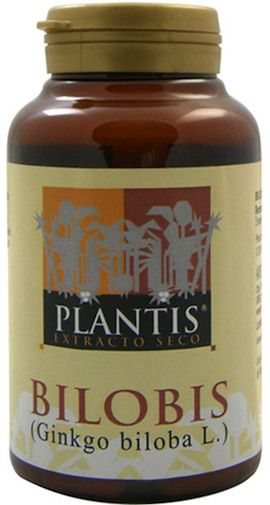 Plantis Bilobis Extracto Gingkgo 120 capsulas