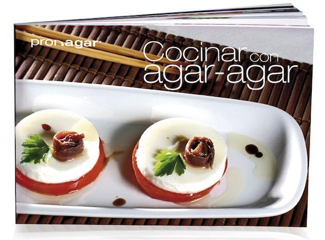 Pronagar Libro de Cocina con Agar Agar