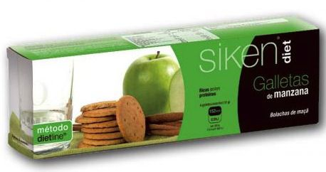 Siken Diet Galletas de Manzana 15 unidades