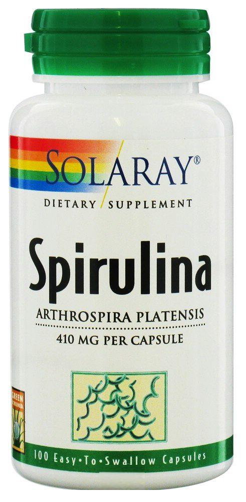 Solaray Espirulina 100 capsulas