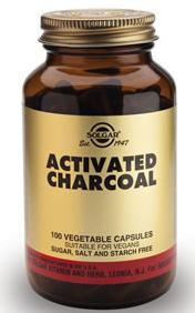 Solgar Carbon Activado 100 capsulas