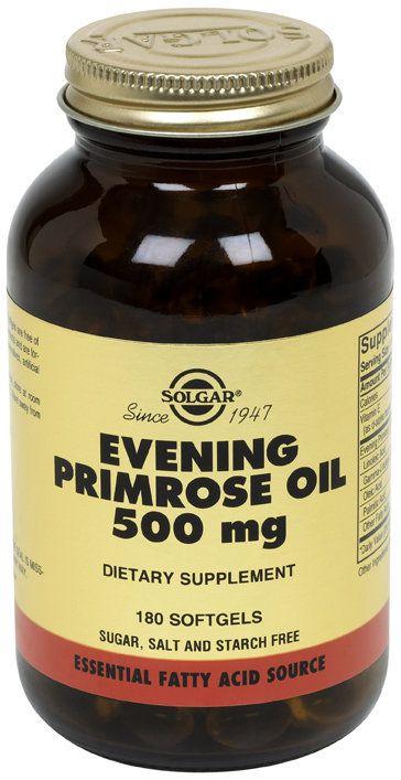 Solgar Evening Primrose Oil - Onagra 500 mg 180 capsulas