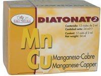 Soria Natural Diatonato 2 Manganeso Cobre 12 viales