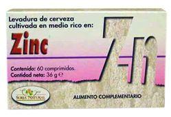 Soria Natural Zinc 60 comprimidos