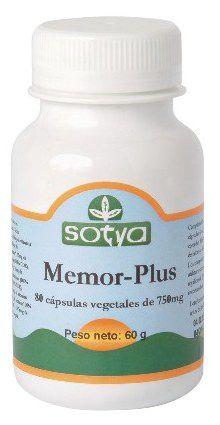 Sotya Memor Plus 60 capsulas