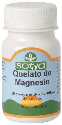 Sotya Quelato de Magnesio 100 comprimidos