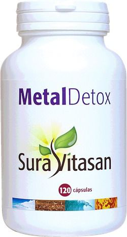 Sura Vitasan Metal Detox 120 capsulas