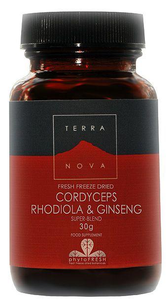 Terranova Cordiceps Rodiola y Ginseng 30g