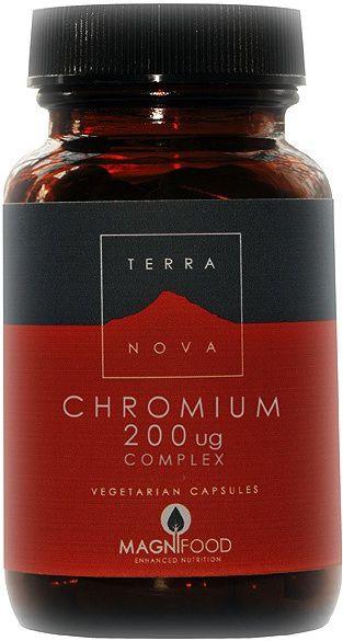 Terranova Cromo Complex 100 capsulas