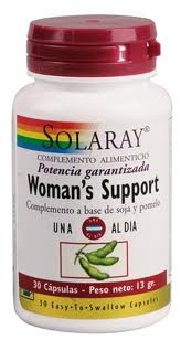 Solaray Woman's Support 30 capsulas