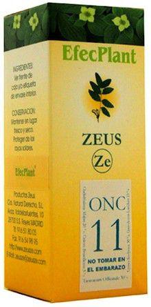 Zeus Efecplant 11 Coadyuvante Oncologico 60ml